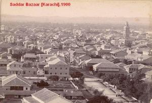 Karachi Saddar Bazaar 1900