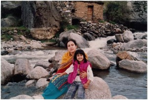 Mira w mother Jugnu Mohsin