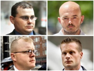 The four Blackwater accused who killed 17 Iraqis in 2007