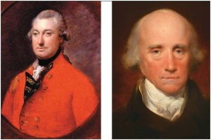 The uncontrolled pillage of the Clive era lasted only two decades. Hastings (left) and Cornwallis cleaned up the act.