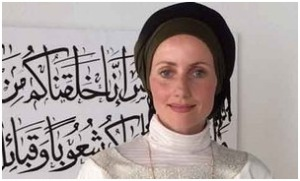 Sherin Khankan, one of two female imams at the Mariam mosque in Copenhagen
