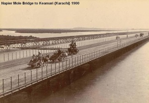 Napier Mole Bridge Kemari 1900